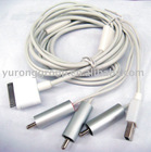 AV Cable for 4S cell phone / 4 pole av cable