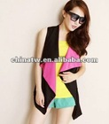 ef2716 New Design Patchwork Women Suits Fashion Waistcoat