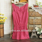 2012 summer sleeveless casual jumpsuit Hsj-023