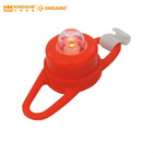 Waterproof Red LED Light with Red Silicone for Bicycle