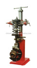 Hydraulic shock springs disassembling device