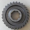 Planetary gear with teeth shaving