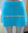 women summer skirt with inner short