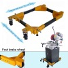 ADJUSTABLE UNIVERSAL MOBILE BASE WOODWORKING TOOL
