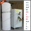 New style!!! High efficient electric small rice mill machine
