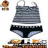 Sexy Stripe Brace Bikini for Girl HSB110418