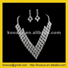 Vintage scarf jewelry set