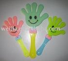 hand clapper,hand clicker,noise maker,plastic clicker