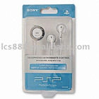 Slim and Lite Headphones with Remote Control and 3.5mm Audio Jack for PSP 2000