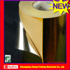 Shop window bright gold aluminium foil sticker paper