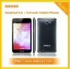 5.0 inch Android 4.0 3G WCDMA Mobile Phone Tablet PC