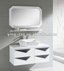Topper modern corner shelf single black corner sink vanity bathroom corner shelf 1000B