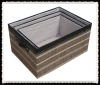 Decorative paper storage box
