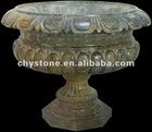Stone Carving Garden Flowerpot