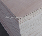 Okoume/Bintangor face Poplar core plywood board