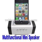 3.5mm Multifunction Bike Mini Sports Speaker Music Box Speaker For Micro SD Card