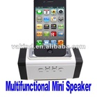 3.5mm Multifunction Bike Mini Sports Speaker Music Box Speaker For Micro SD Card