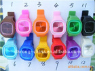hot sale ss.com silicone jelly watches !