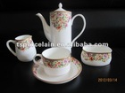 15pcs bone china tea/coffee set