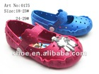 2013 Fashionable pcu kid sandals baby shoes
