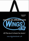 Laminated Non woven shopping promotion bags WINGS Beach