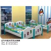 Children wooden beds