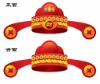 inflatable Mammon hat (red)