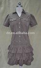 Disjunctor skirt;Short skirt;Corduroy skirt