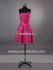Pretty Short Taffeta Homecoming Dress Cocktail Dress Lady Dress Sleevless-PR0657