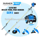 52CC LONG REACH 4 IN 1/ 5 IN 1/ 6 IN 1/ 7 IN 1 / 8 IN 1 / 9 IN 1 MULTI TOOL BRUSH CUTTER HEDGE TRIMMER POLE PRUNER CHAIN SAW