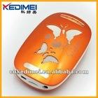 Kedimei usb portable mini speaker with butterfly logo(S6805)