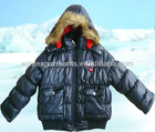 a style winter jacket with thickness padding, fashion design