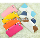Book Wallet Leather for iPod Touch 5 Case