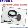gps gsm combo antenna with SMA connector with 5000mm cable