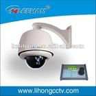 Built in PTZ function of SD Ip Indoor /outdoor High speed dome