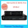 Best price HD LEXUZ BOX F90 DVB-C cable receiver set top box support 1080p specially for Brazil