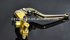 Motorcycle clutch disk brake handle