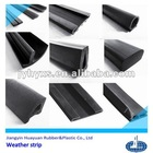 high quality flexible ISO9001:2008,ROHS,SGS(silicone FDA approval) epdm weather strip