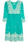 Aria embroidered silk-chiffon dress HGS723