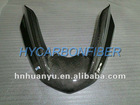 Carbon fiber motorcycle fender extension