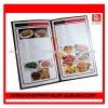 OEM Restaurant Exquisite Paper chinese menu printing