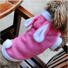 Pink Bunny Warm Winter Dog Apparel Dog Coat