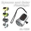 Dynamo Power and Solar Power Flashlight