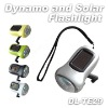 Dynamo Power and Solar Power Flashlight