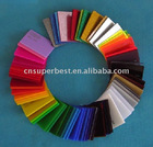 colored acrylic pmma plexiglass board with any thickness and size