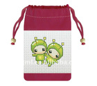 fashion drawstring cellphone bag