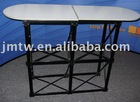 promotion table, booth table, counter, exhibition table