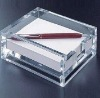Hot clear acrylic stationery display cases