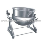 Inclined Stainless steel Jacketed kettle(jacket pot,steam cooker ,food machine)