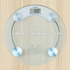 2012 digital manual body glass weighing scale 150kg